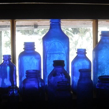 Empty Medicine Bottle Collection