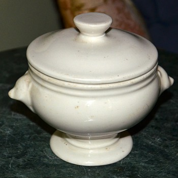 Old Hall Soup Tureen with Bear-faced Handles - Kitchen