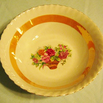 China Bowl - China and Dinnerware