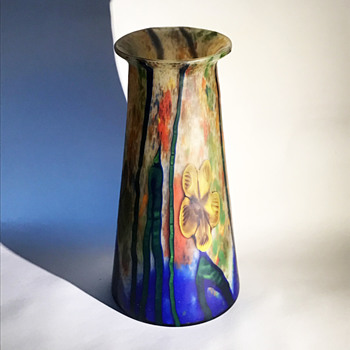 Kralik Marquetry Vase - Art Glass