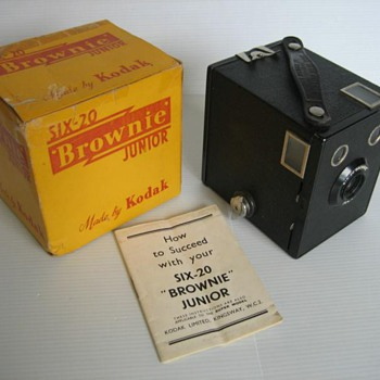 Brownie Junior - Cameras