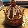 Mini crown perfume bottle