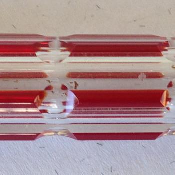German Enamel Perfume Bottle