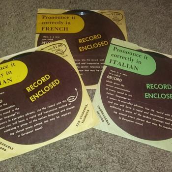 """7"""" SHELLAC DISCS....#1-#3 - Records"""