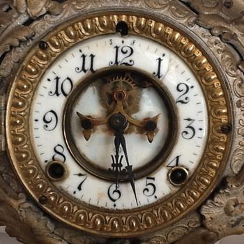 Need help identifying this Ansonia - Clocks
