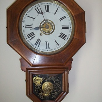 New Haven 10 Inch Octagon clock - Clocks