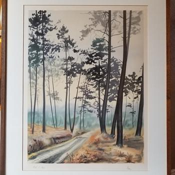 Vintage Japanese Shin-hanga Landscape Print - Posters and Prints