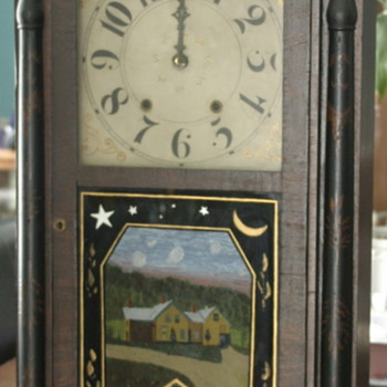 antique, very large clock marked 1818 - Clocks