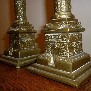 1920-1930's British candle sticks. - Lamps