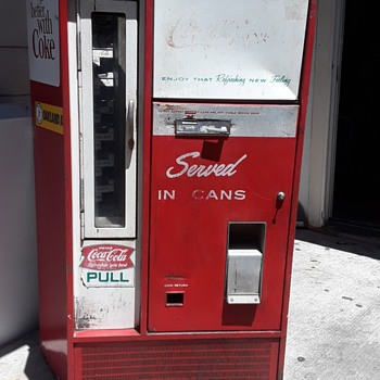 Help identifying machine - Coca-Cola