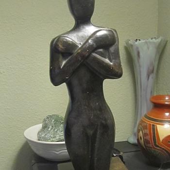 carved wood sculpture  - Fine Art