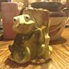 Frog with Banjo vase