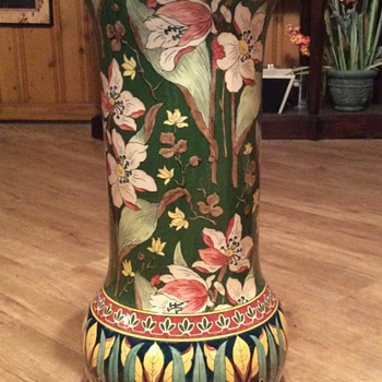 Vintage, Antique Umbrella Stand? - Pottery