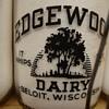 Edgewood Dairy Beloit, Wisconson Quart Baby Top Milk Bottle