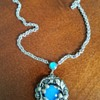 Thistle & Berry Blue Moonstone Necklace