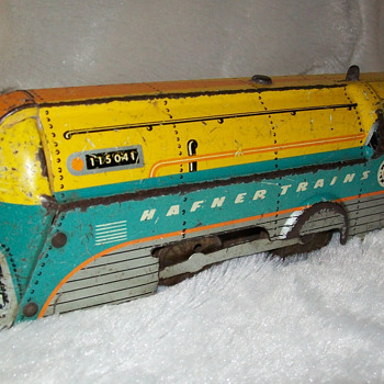 Wyndott wind up train - Model Trains