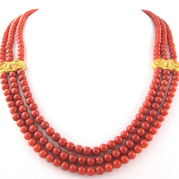 Malfatti Coral Necklace ~ Calling all coral experts!!!  Help!! - Fine Jewelry