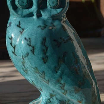 Blue Owl - Pottery