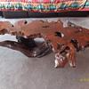 6' Calif. Redwood Coffee Table...