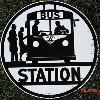 Bus Station  - Advertising