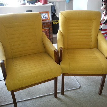 Pair of Side Chairs - Furniture