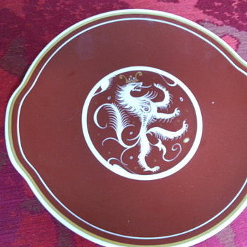 Susie Cooper cake plate - Pottery