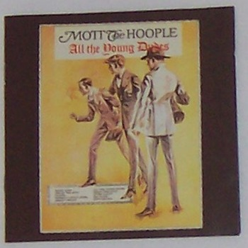 IAN HUNTER AND MOTT THE HOOPLE... - Records