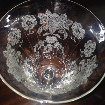 Fostoria Wine Glass