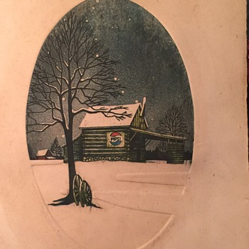 pepsi appears to be a Book Plate imprint not signed ? & Antique Bookplates | Collectors Weekly