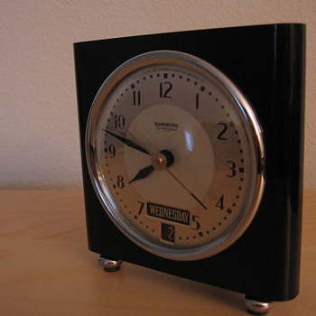 "Hammond ""Clermont"" clock - Art Deco"