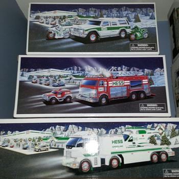 Hess  Trucks - Toys