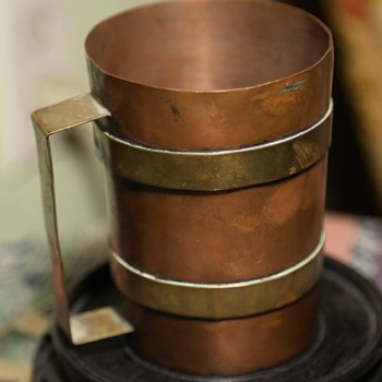 Copper and Brass Cup - Tlaquepaque - Mexico - Kitchen