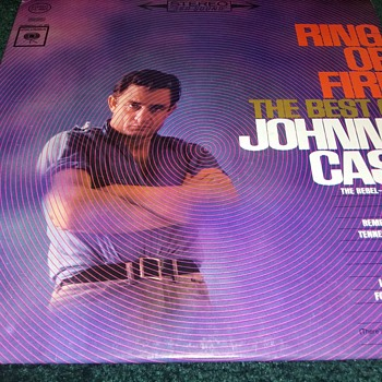 Johnny Cash...On 33 1/3 RPM Vinyl. - Records