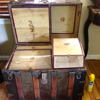 Steamer Trunk - looking for history - Furniture