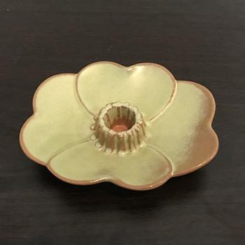 Frankoma candle holder - Pottery