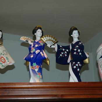 Seasonal Fan Japanese Dolls 1981 - Dolls