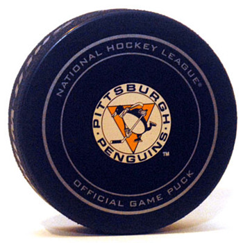 Penguins 2013 alternate puck - Hockey