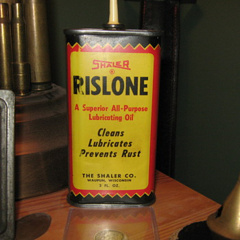 Shaler Rislone 3 oz. Oiler can - Petroliana