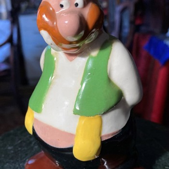 Funny old fat man! - Pottery