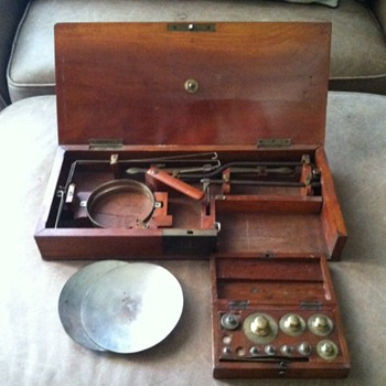 Vintage Apothecary scale