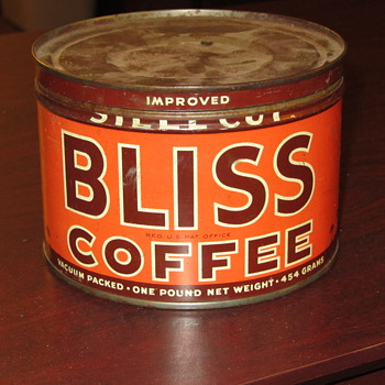 Bliss Coffee Can - Advertising