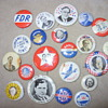 im for free silver political pins