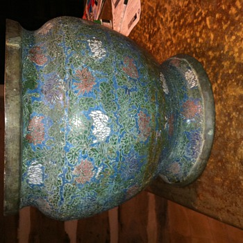 Cloisonne Vase/Pot - Asian
