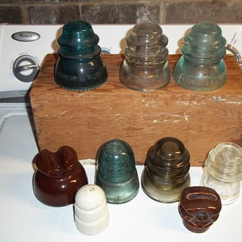 Insulators - One dated 1884