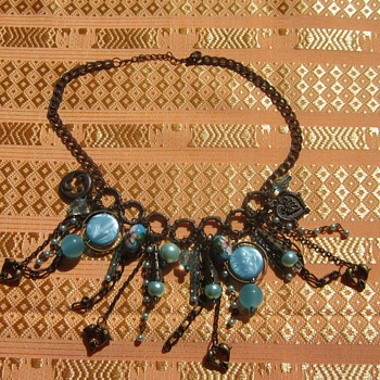 Maybe Middle Eastern Necklace - Costume Jewelry