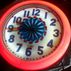 Cleveland Spinner Neon Clock