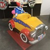 Bozo  The Clown  kiddy coin operated ride