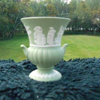 Wedgewood Toothpick Holder - Pottery