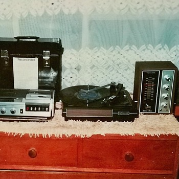 1976- my old stereo system-Tandy stores purchase - electronics.