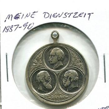 Meine Dienstzeit / Meine Rekrutierung Medals - Military and Wartime